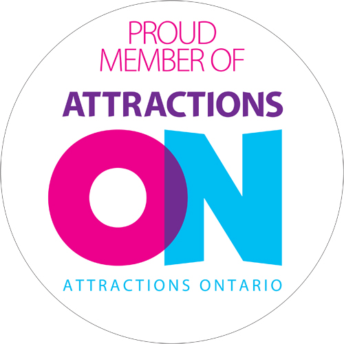 Proud member of Attractions Ontario Graphic