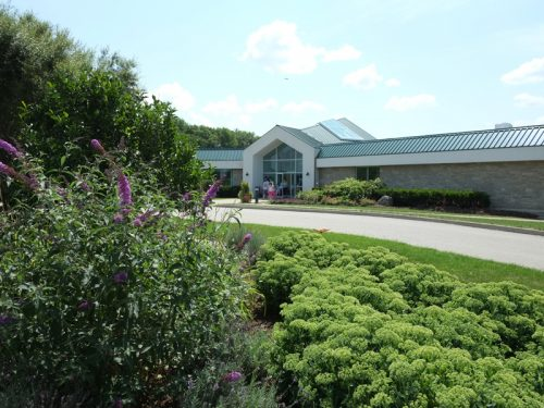 Exterior of Cambridge Butterfly Conservatory