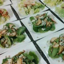 Waterloo Region Caterer, plated food
