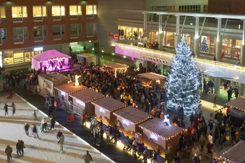 Christkindl Market at Kitchener City Hall