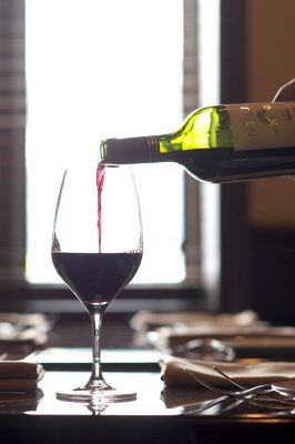 Napa Grille and Wine Den - Wine pour