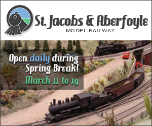 St.Jacobs and Aberfoyle Model Rail March