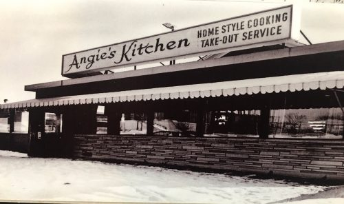 Photo of Angie's in 1962