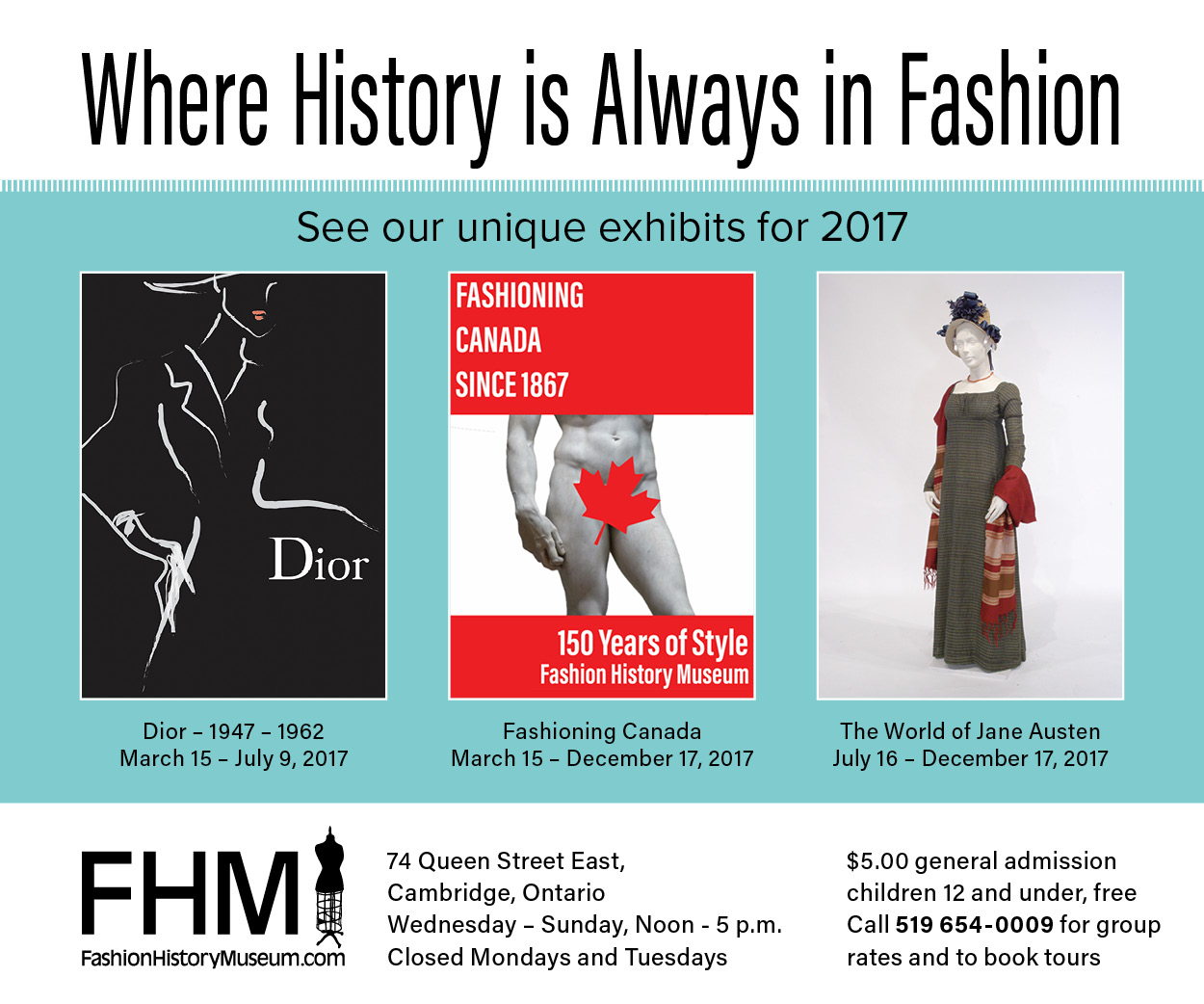 Fashion History Museum – APRIL