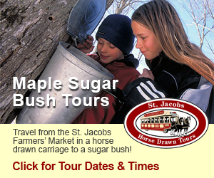 St. Jacobs Horsedrawn Tours March