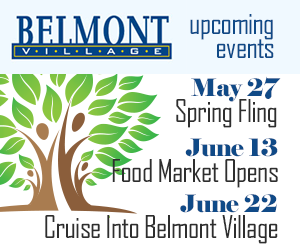 Belmont Village BIA – MAY (in lieu of March)