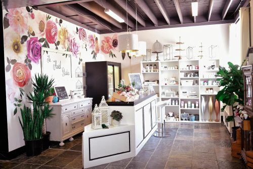 interior view of The Floral Studio at Fresh Look Design
