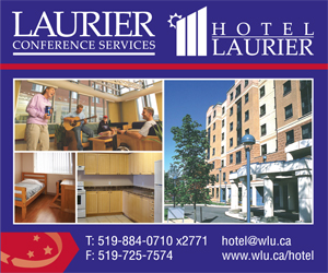 Wilfrid Laurier University Conference Services – MAY, JUNE, JULY