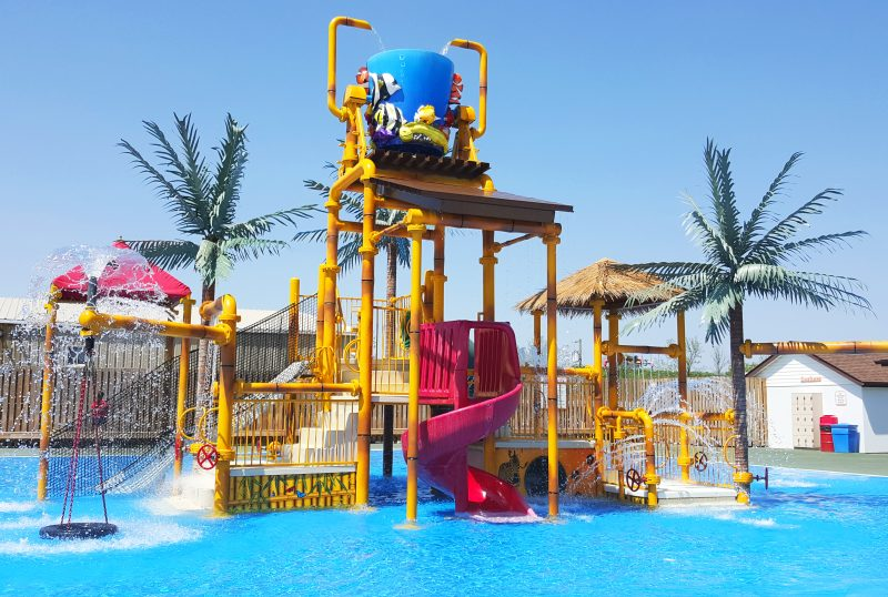 African Lion Safari wet play structure