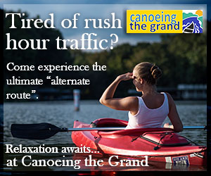 Canoeing the Grand – JUNE, JULY 2017