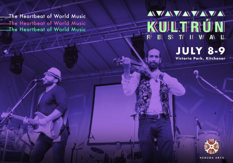 Experience the Kultrún World Music Festival July 7-9