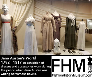Fashion History Museum – AUG 2017