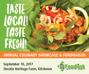 Taste Local! Taste Fresh! Presented by Foodlink – JULY, AUG, SEPT