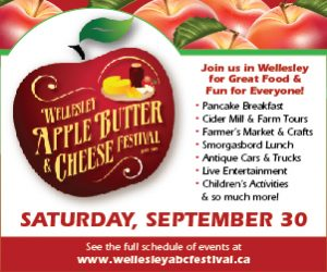 Wellesley Apple Butter and Cheese Festival- AUG, SEPT 2017