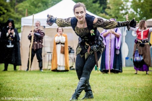 Cosplayer at the Royal Medieval Faire