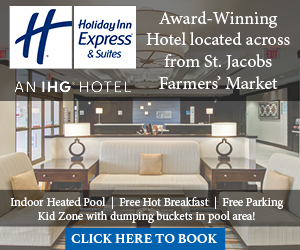 Holiday Inn Express Waterloo St. Jacobs – DEC 2017