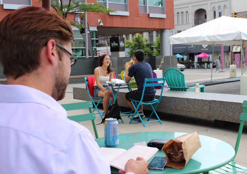 Patio Season: Downtown Kitchener