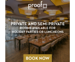 Proof Kitchen and Lounge – SEPT 2017