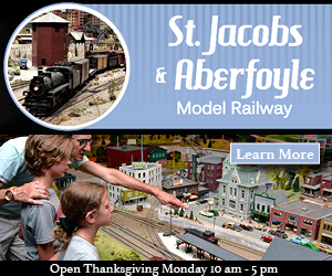 St. Jacobs Aberfoyle Model Railway – SEPT 15/OCT 15 2017