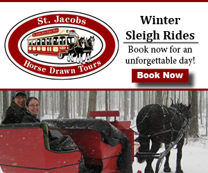 St. Jacobs Horse Drawn Tours – NOV, DEC 2017
