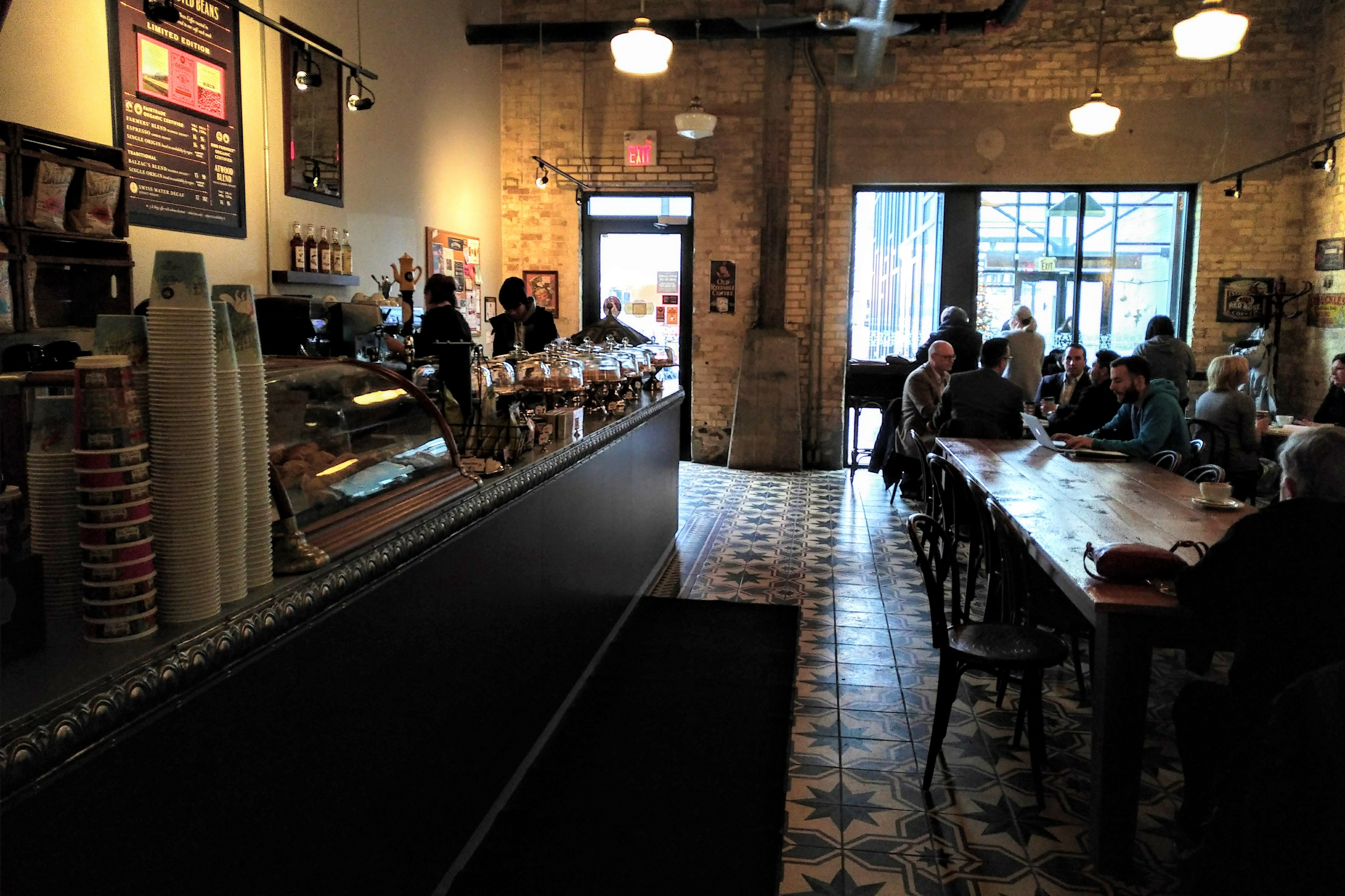 inside view of Balzacs Kitchener