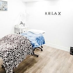 aesthetics room at Uptown Beauty Lounge