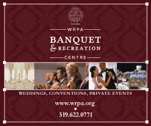 WRPA Banquet and Recreation Centre – JAN, FEB 2018