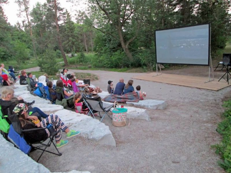Movies Under the Stars at Shade's Mills, GRCA