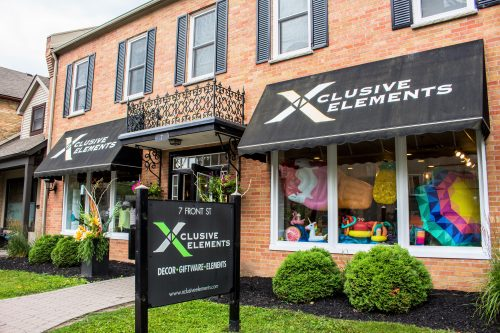 outside view of Xclusive Elements in St. Jacobs
