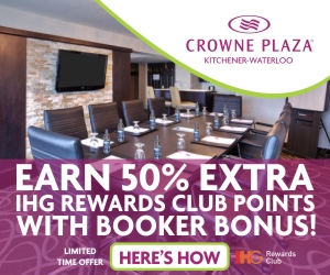 Crowne Plaza Kitchener-Waterloo – September 2018