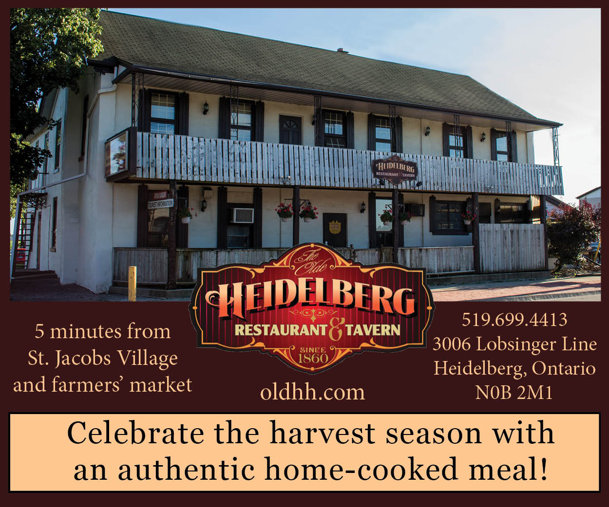 Heidelberg Restaurant, Tavern & Motel – September 2018