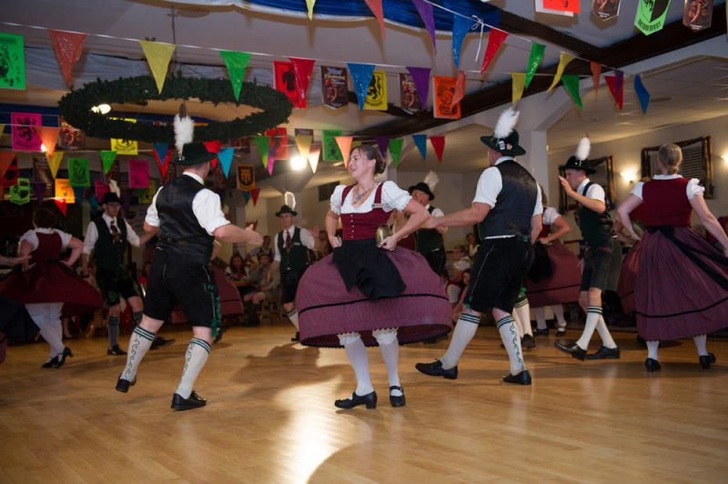 club dancers participating in So You Think You Can Tanz at KW Oktoberfest