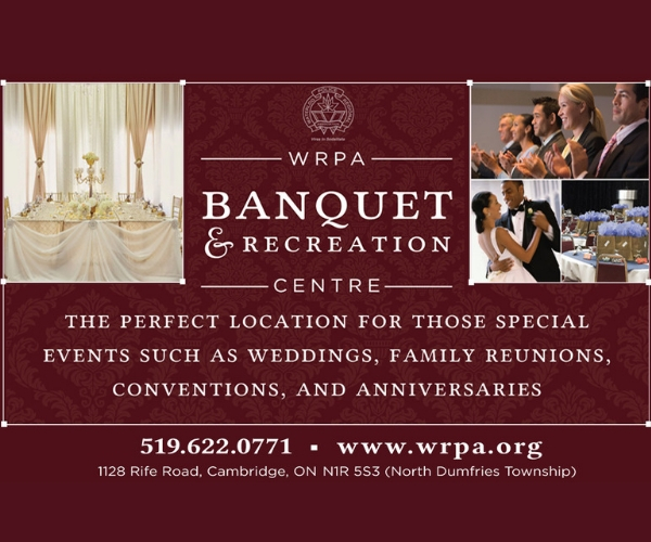 WRPA Banquet and Recreation Centre – October 2018