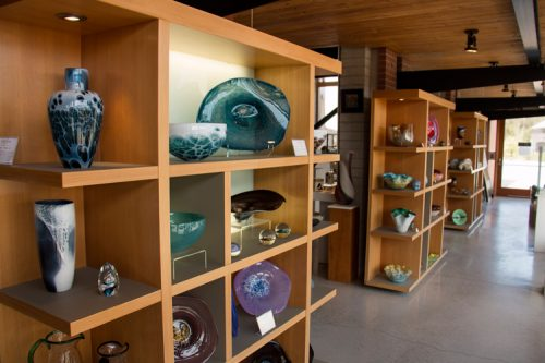gift items at the Gallery Shop at Canadian Clay & Glass Gallery