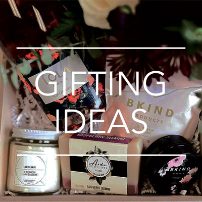 A box by Fresh Look Designs showcasing gifting and room drop options for meeting, events, and conferences