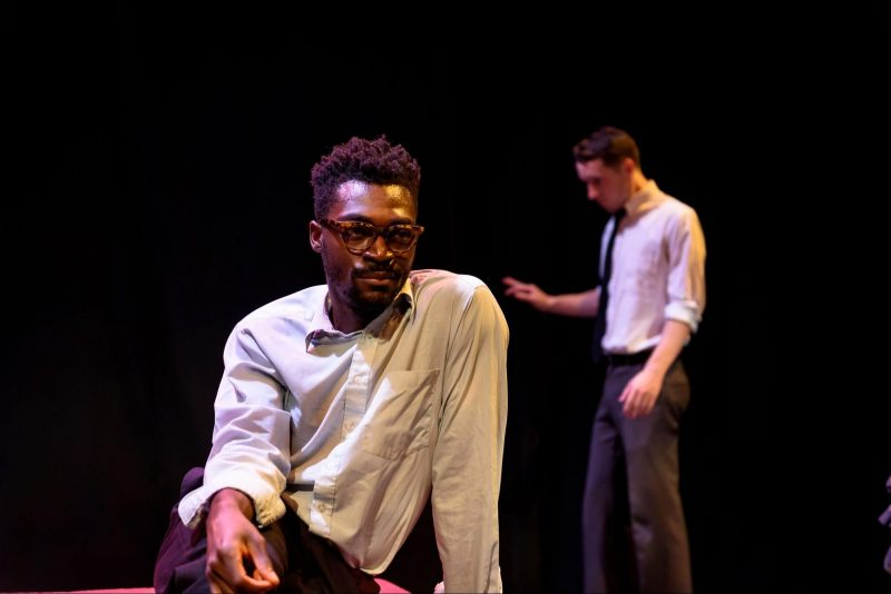 production photo from The Seat Next to the King - Green Light Arts