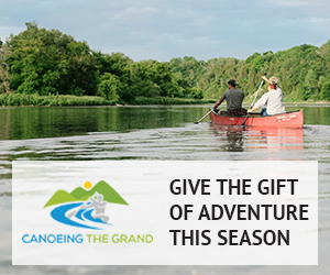 Canoeing the Grand – December 2018