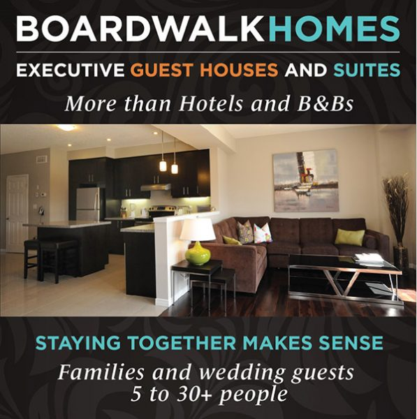 Weddings at Boardwalk Homes Executive Guest Houses & Suites