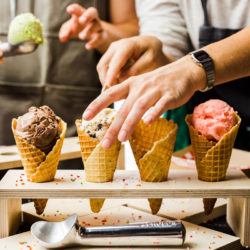 four all ice cream, ice cream waterloo region, food waterloo region, ice cream kitchener