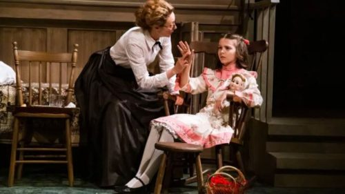 Sign Language Performance of The Miracle Worker happening at St. Jacobs Country Playhouse