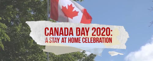 Rogers tv Canada Day 2020 celebration banner