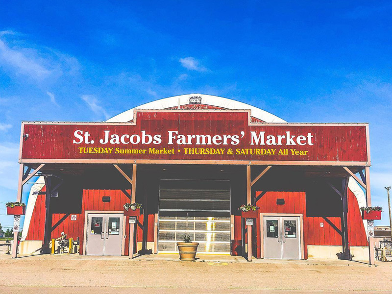 St Jacobs Farmers' Market Phased Re-Opening Announced
