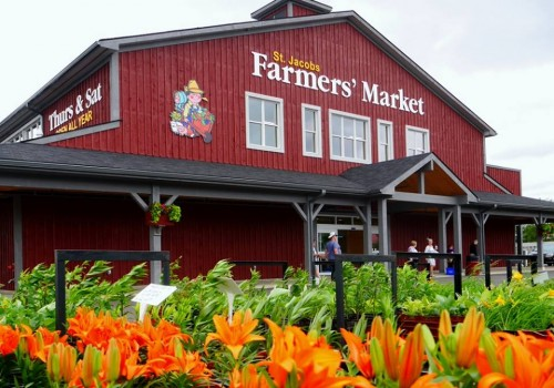 New Market Building At St. Jacobs Farmers' Market