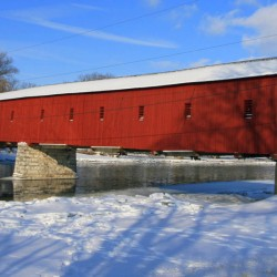 West Montrose Covered Bridge in the Township of Woolwich