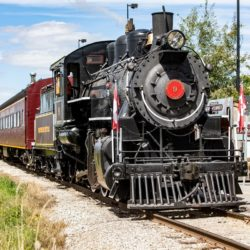 trains waterloo region, things to do, steam train, family fun