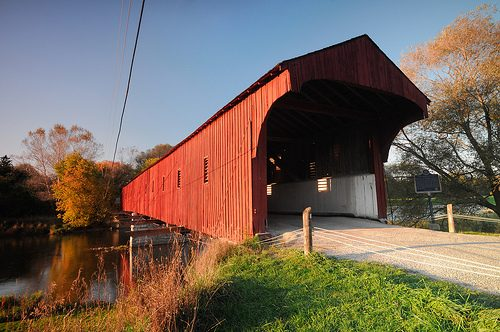 Waterloo Region's West Montrose Covered Bridge: 140 Years Young