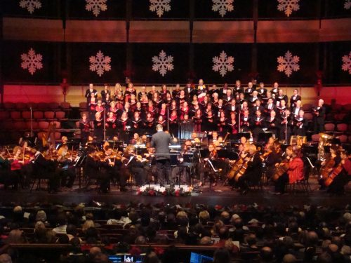 KW Symphony performing their annual Yuletide Spectacular