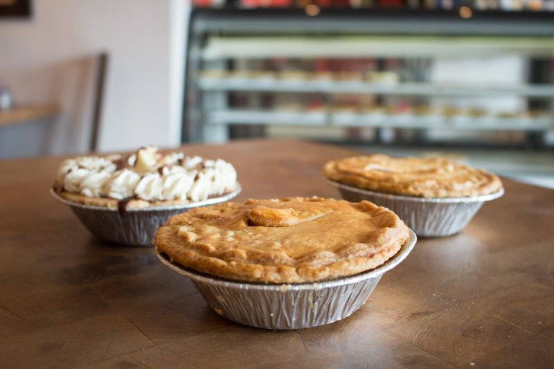 some of the pies at Just Love Pies