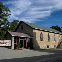 outside view of the St. Jacobs Schoolhouse Theatre