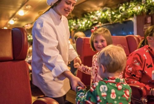waterloo central railway, polar express train ride, holiday trains, family fun, family things to do, trains waterloo region